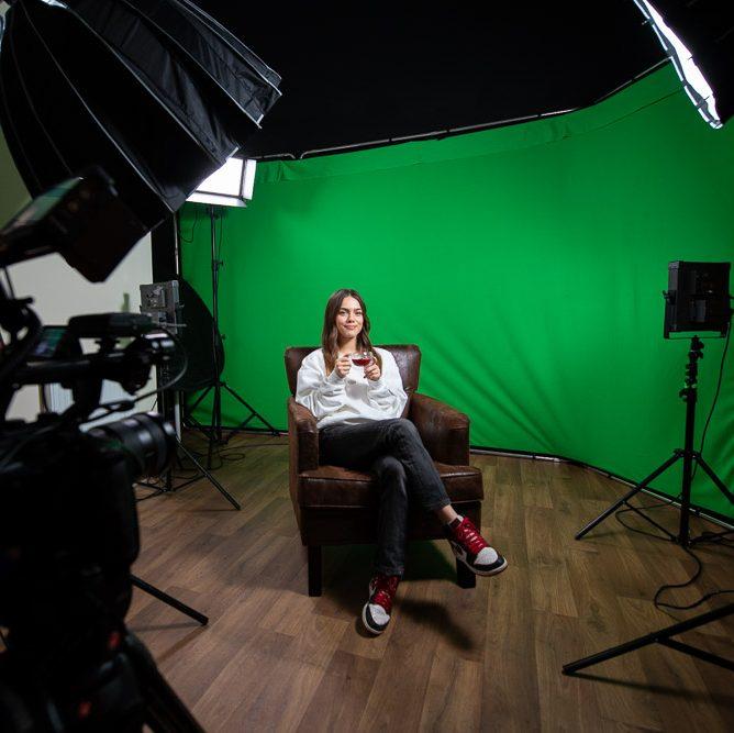 Green Screen studio film East Grinstead, West sussex